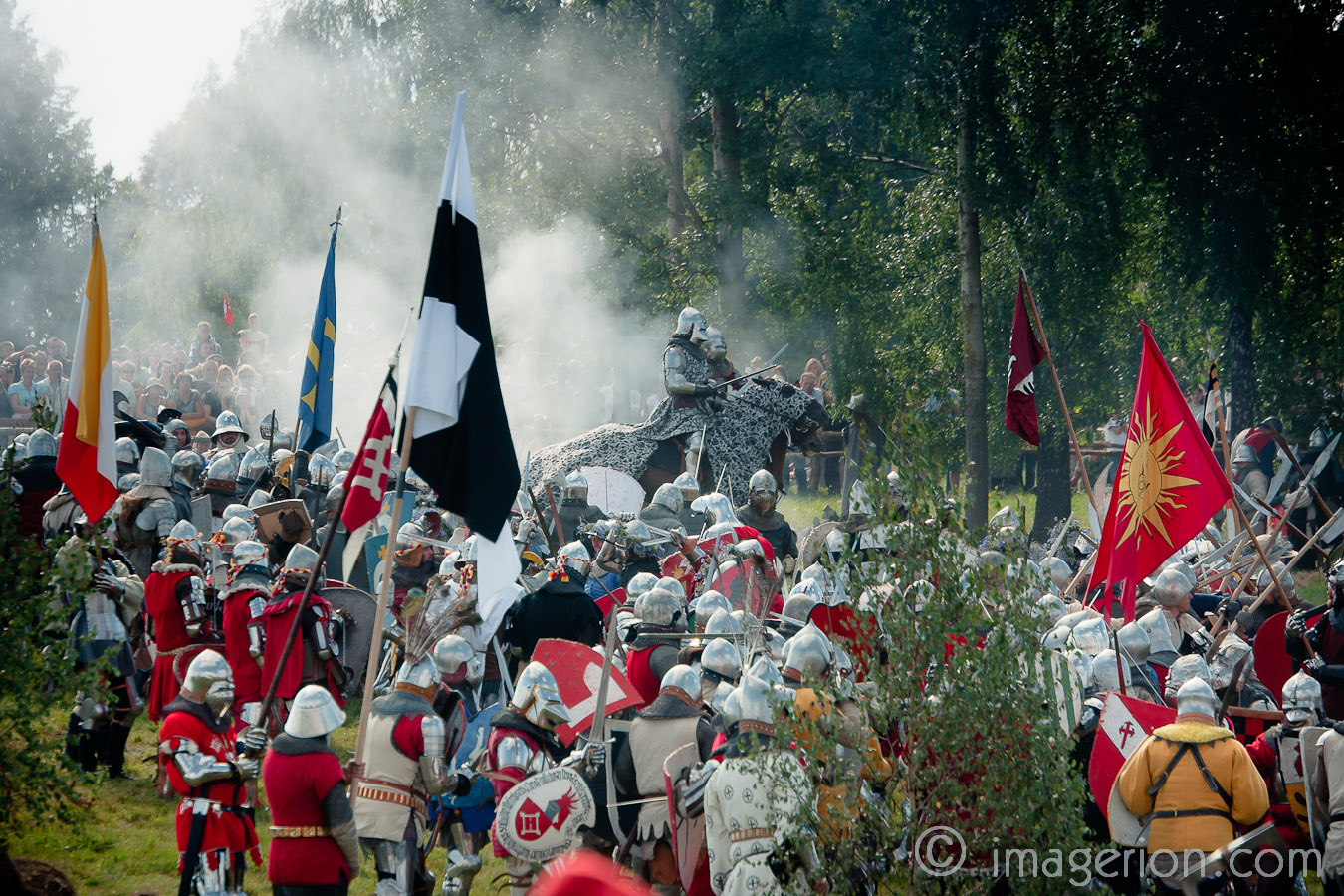 Medieval battlefield armies