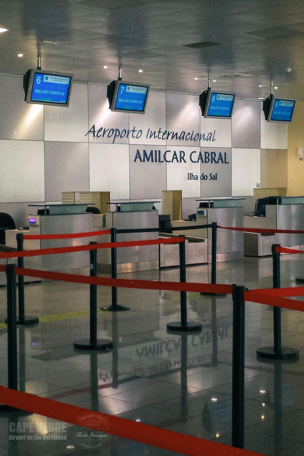 Amilcar Cabral Airport, Cape Verde