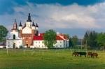 Image of church. Great Orthodox Defensive Church – Suprasl Monastery