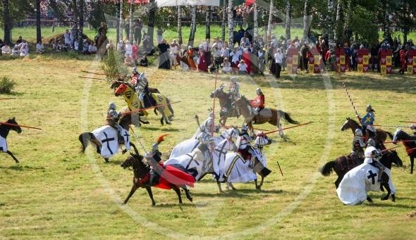 Jousting – Teutonic Knights vs Polish Knights