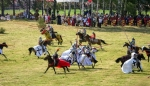 Image of jousting. Jousting – Teutonic Knights vs Polish Knights