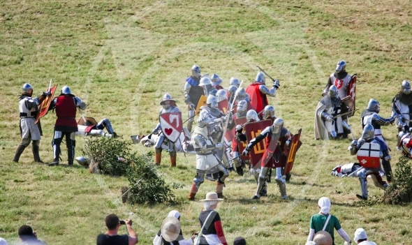 Fighting on foot, Polish & Lithuanian vs Teutonic Knights