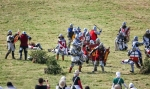 Image of clash. Fighting on foot, Polish & Lithuanian vs Teutonic Knights