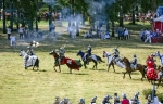 Image of medieval. Medieval knights, Chasing Ulrich von Jungingen