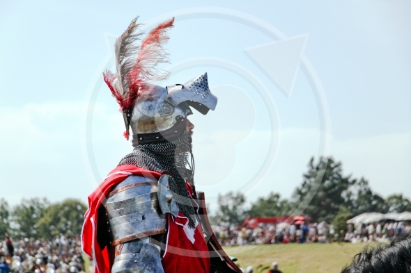 Polish mounted Knight before the battle