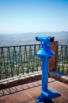 Image of search. Lunette at viewpoint in Mijas Pueblo