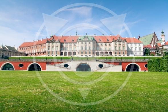 Royal Castle in Warsaw – east side