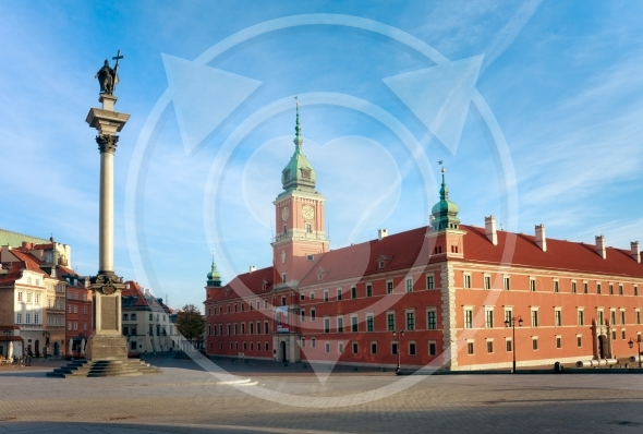 Castle Square – Warsaw City