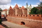 Image of Warsaw. Barbican – Fortified medieval outpost