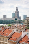 Image of Warsaw. Warsaw and Palace of Culture and Science