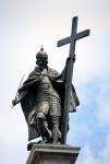 Image of statues. Kings Zygmunt's statue in Warsaw