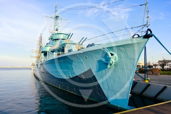 Destroyer Ship – torpedo boat (Thunder)