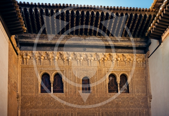 Ancient windows of Comares Palace – Alhambra