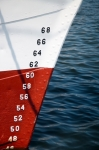 Image of numbers. Numbers of ships depth gauge