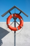 Image of buoy. Life buoy