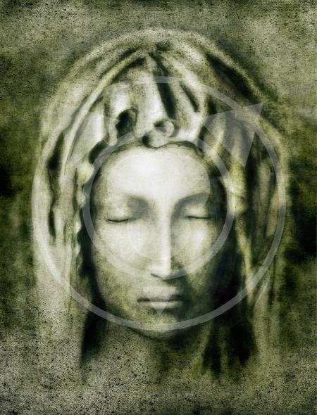 Virgin Mary – stylized copy of Pieta by Michelangelo