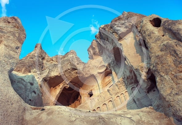 Christian church cut in rock