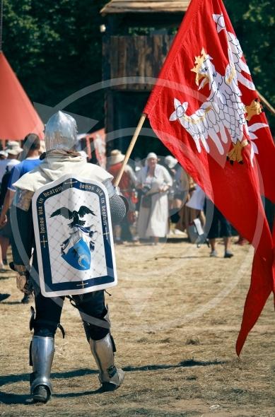 Polish Knight with Flag – Slepowron