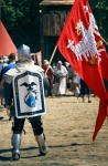 Image of knights. Polish Knight with Flag – Slepowron