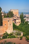 Image of Alhambra. Alhambra towers