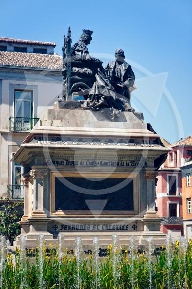 Columbus in Granada