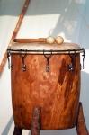 Image of instrument. Big Drum