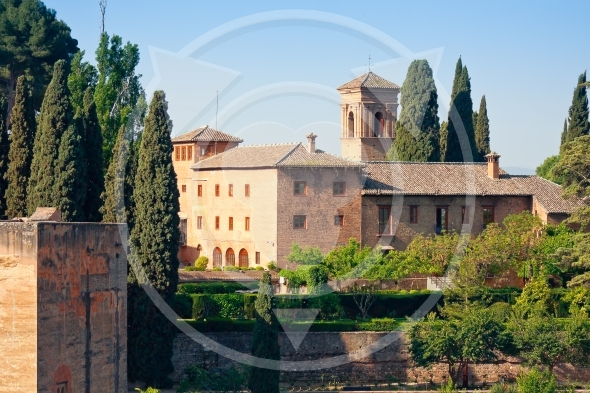 Alhambra shown in the image