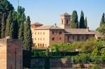 Image of Alhambra. Alhambra architecture