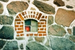 Image of window. Window in a stone wall