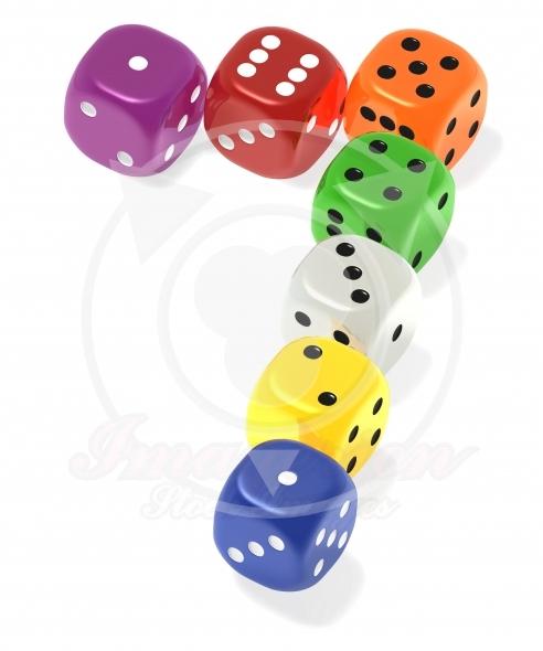 Lucky seven dice