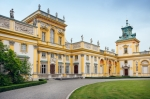 Image of wilanow. Wilanow  Palace in Warsaw