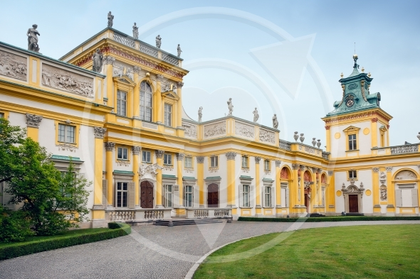 wilanow shown in the image