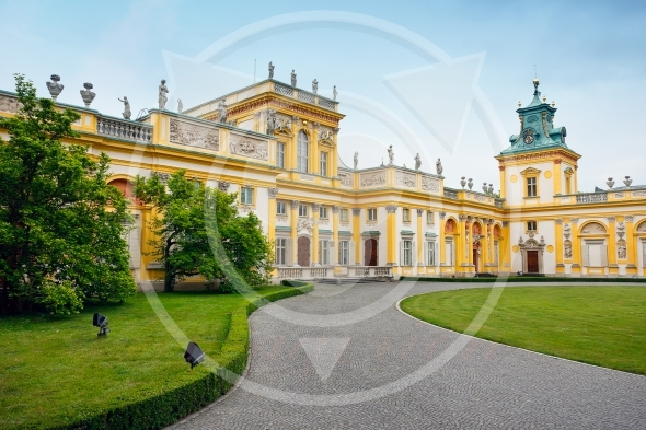 Wilanow – Royal Palace in Warsaw