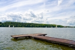 Image of Masuria. Masurian Lakes District, pier in Mikolajki