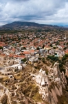 Image of Uchisar. Small town and ruins in Uchisar