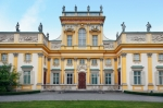 Image of palace. Wilanow Palace in Warsaw
