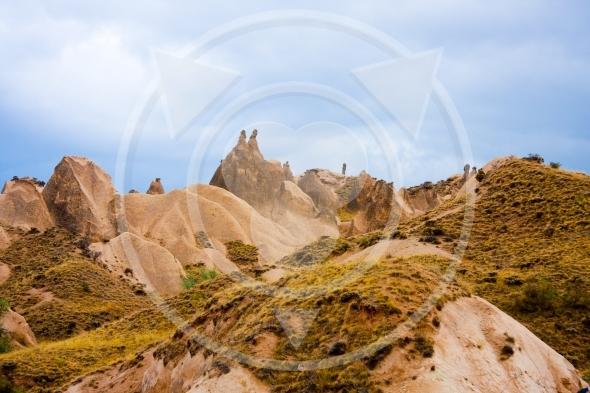 Hilly landscape of Cappadocia – Turkey