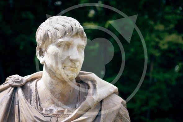 Trajan Portrait – Roman Emperor