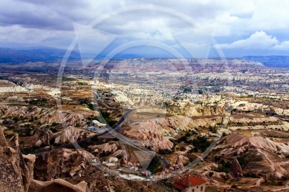 Uchisar and Red Valley – Cappadocia, Turkey