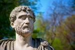 Image of statues. Hadrian – Roman Emperor bust