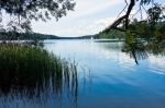 Image of lake. Masurian lakes