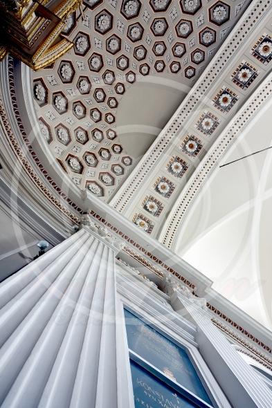 Aisle ceiling of St.Anne's Church