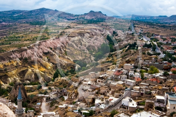 Uchisar – small town near the valley