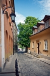 Image of tenements. Warsaw – Old Town