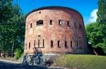 Image of citadel. Citadel Caponier in Warsaw