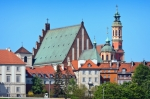 Image of warsaw. Warsaw's Old Town Buildings – Poland
