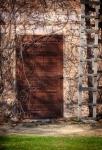 Image of door. Secret door