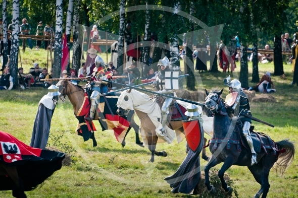 Lancer Knights charge, Battle of Grunwald 1410 – 601th anniversary