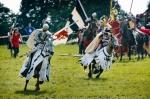 Image of knights. Teutonic Knights horseback, Battle of Grunwald 1410