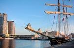 Image of sailing. Gulden Leeuw Schooner